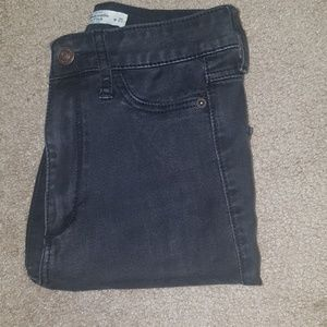 A&F high waisted jeggings